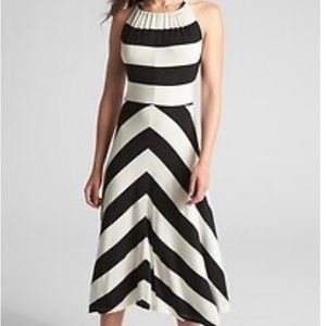 New! Gap Halter Neck Maxi Dress XL